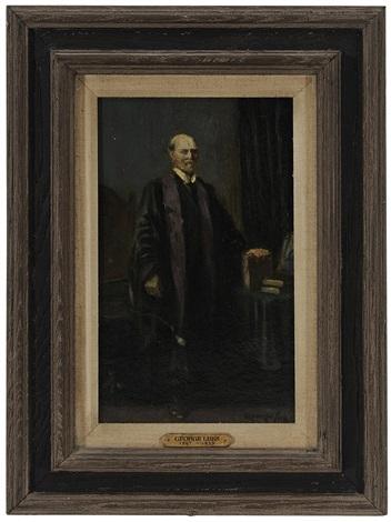 portrait of charles evans hughes, sr (1862-1948) by george benjamin luks