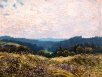 letní panorama by karel langer