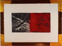 negre i vermell by antoni tàpies
