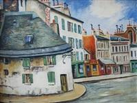 rue de montmartre by elisée maclet