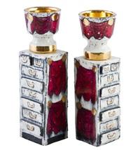 candlesticks (pair) by birger kaipiainen