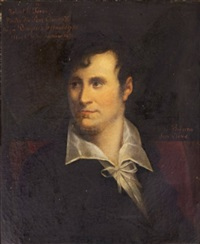 portrait du peintre robert lefevre by gusman de ribeira