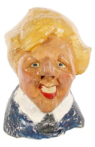 bust of margaret thatcher by gerald scarfe