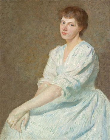portrait of anna by julian alden weir