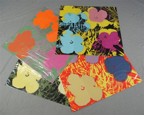 flowers by sunday b morning 10 works by andy warhol