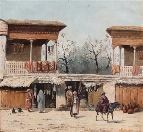 stalls at the market by richard karlovich zommer