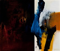 serie meandes (diptych) by robbert fortgens