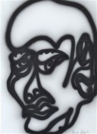 untitled head by howard arkley