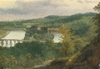 vue de billancourt et bas meudon by théodore rousseau