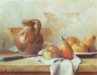 still life, fruit by robert chailloux