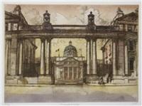 dublin architectural (study, irgr; set of 4) by gordon miles