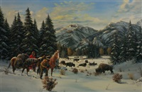 the buffalo hunters by gerry michael metz