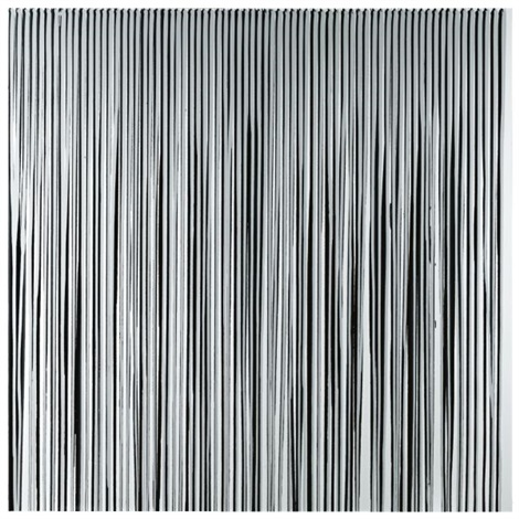 poured lines mixed greys and black by ian davenport