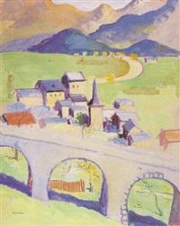paisaje de suiza by joseph mompou