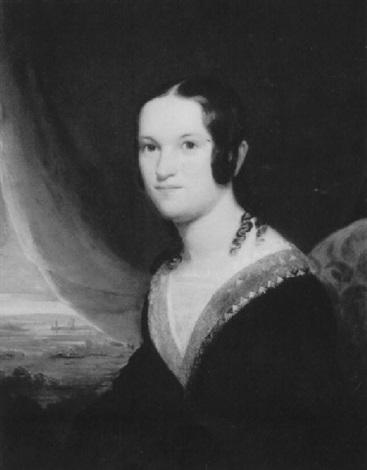 portrait of mary dewitt clinton at 21 by john vanderlyn