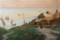 early morning on the coast of britain by frank lewis emanuel