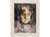 visages pour delie (bk by maurice sceve w/14 works) by leonor fini