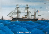 croiseur mixte à eperon by dugay-trouin