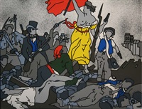 liberty on the barricades by robert ballagh
