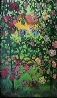 les rosiers en fleurs by boris kaploun