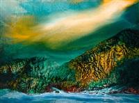 清溪曙光 (landscape) by jan chinshui