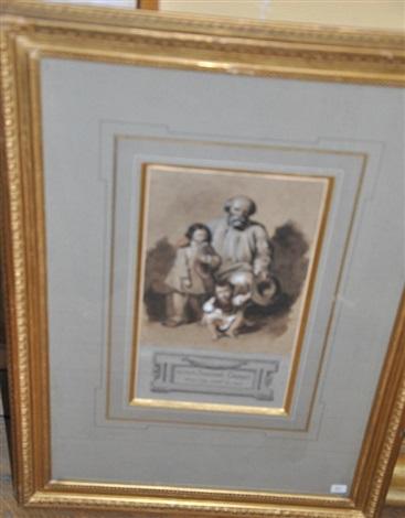 le grand père et ses petits enfants by nicolas toussaint charlet