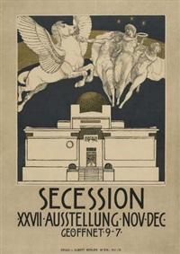secession xxvii ausstellung by rudolf jettmar