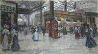 victoria station by eugenio alvarez dumont