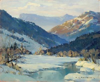 les contamines by charles henry contencin