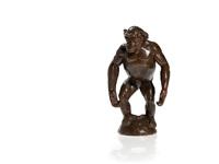 chimp on hemisphere by franz barwig the elder