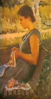 la brodeuse by graer arakelyan