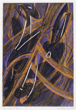 feu sou leau by stanley william hayter