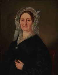portrait of miss tychsen by emilius baerentzen