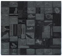 fragmentación en blanco xix by hector de anda