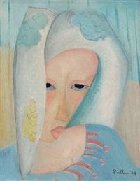 Woman in blue, 1939