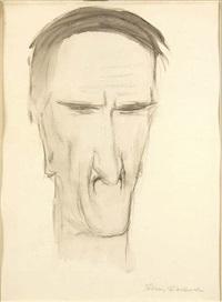 portret tadeusza kantora by tadeusz waskowski