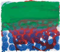in a public garden by howard hodgkin