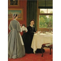 afternoon tea by george dunlop leslie