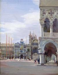 piazza san marco by oscar sogaro