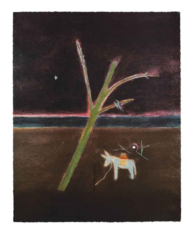 donkey by craigie aitchison