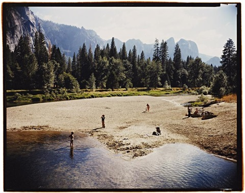 merced river, yosemite national park, california, august 13 by stephen shore