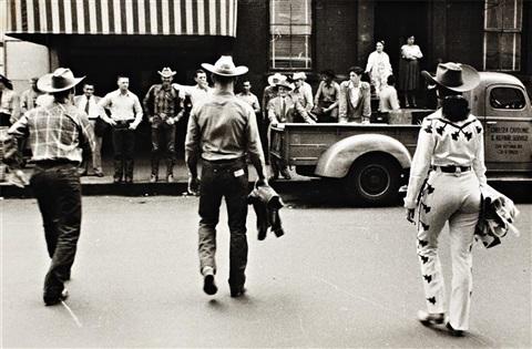 nyc madison square garden by robert frank