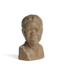 untitled (bust of a young boy) by augusta savage