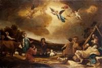 zwiastowanie pasterzom by frans marcus smits