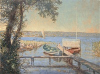 landing stage by julius christian rehder