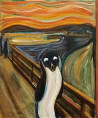 screaming penguin by kayo matsushima