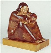mujer sentada by arturo acebal idígoras