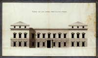 design for a bank on rue de richelieu by charles lesage