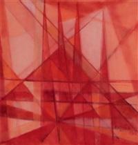 kırmızı kompozisyon by ferruh basaga