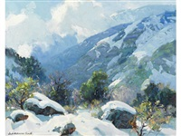high sierra snow by jack wilkinson smith